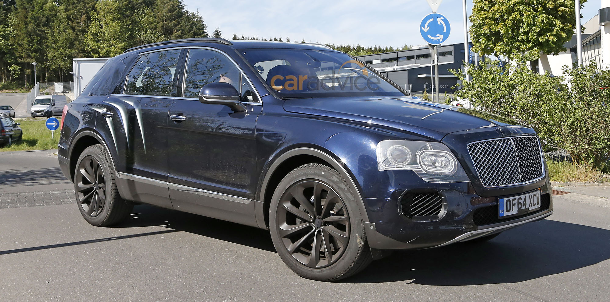 Bentley Bentayga Spied Practically Production Ready