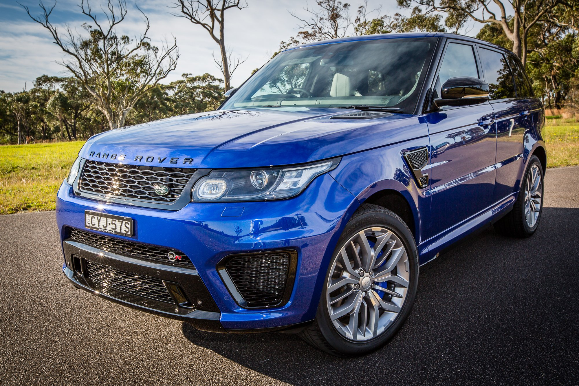 Model 2015 Range Rover Sport SVR Review  CarAdvice