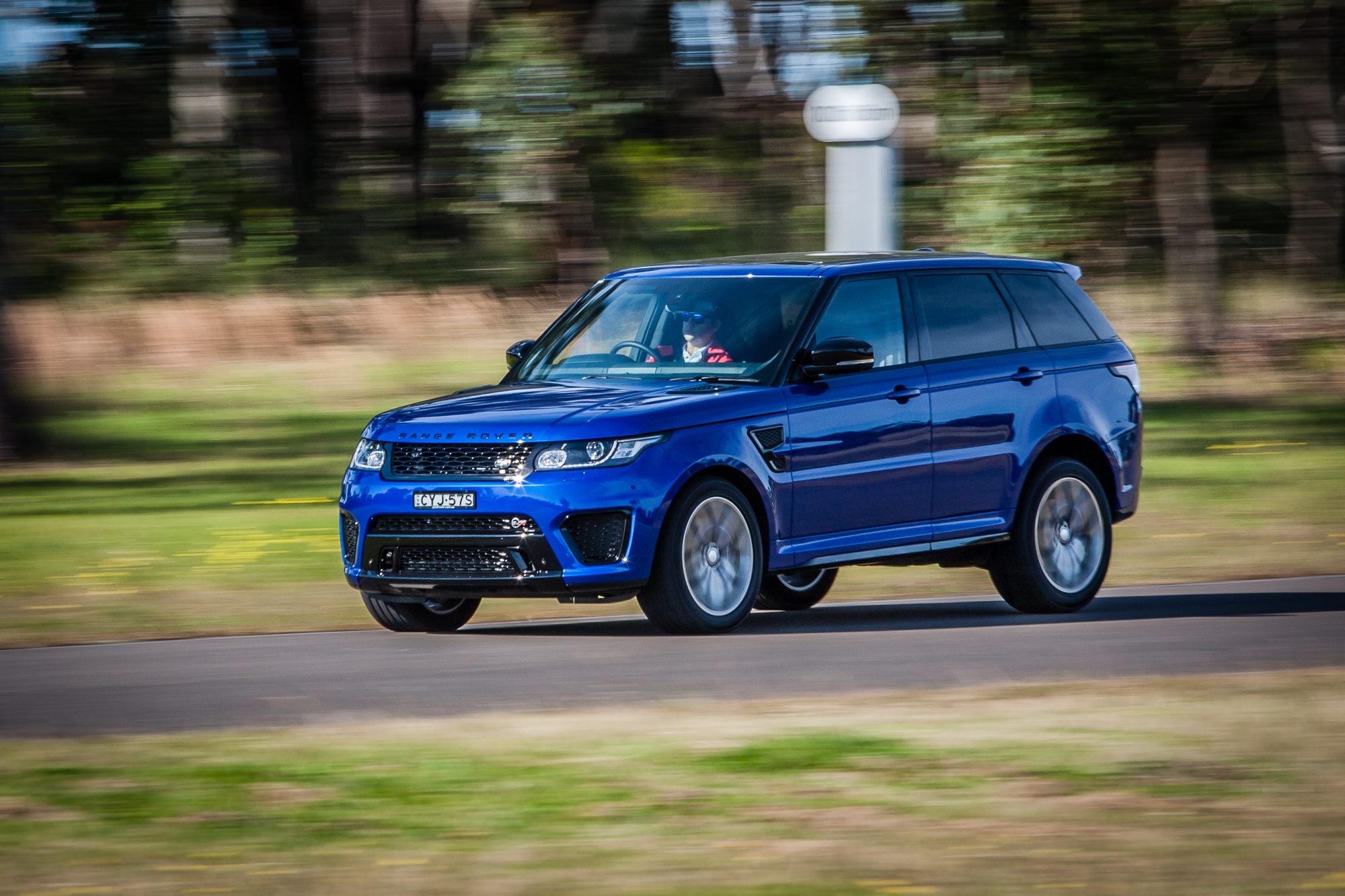 Luxury 2015 Range Rover Sport SVR Review  CarAdvice