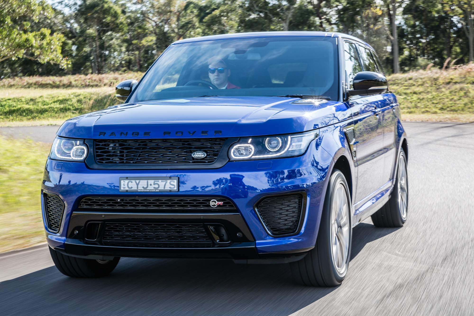 Awesome 2015 Range Rover Sport SVR Review  CarAdvice