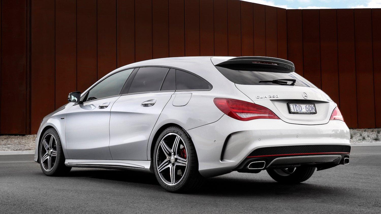 Mercedes benz cla shooting brake review caradvice for Mercedes benz cla 2015