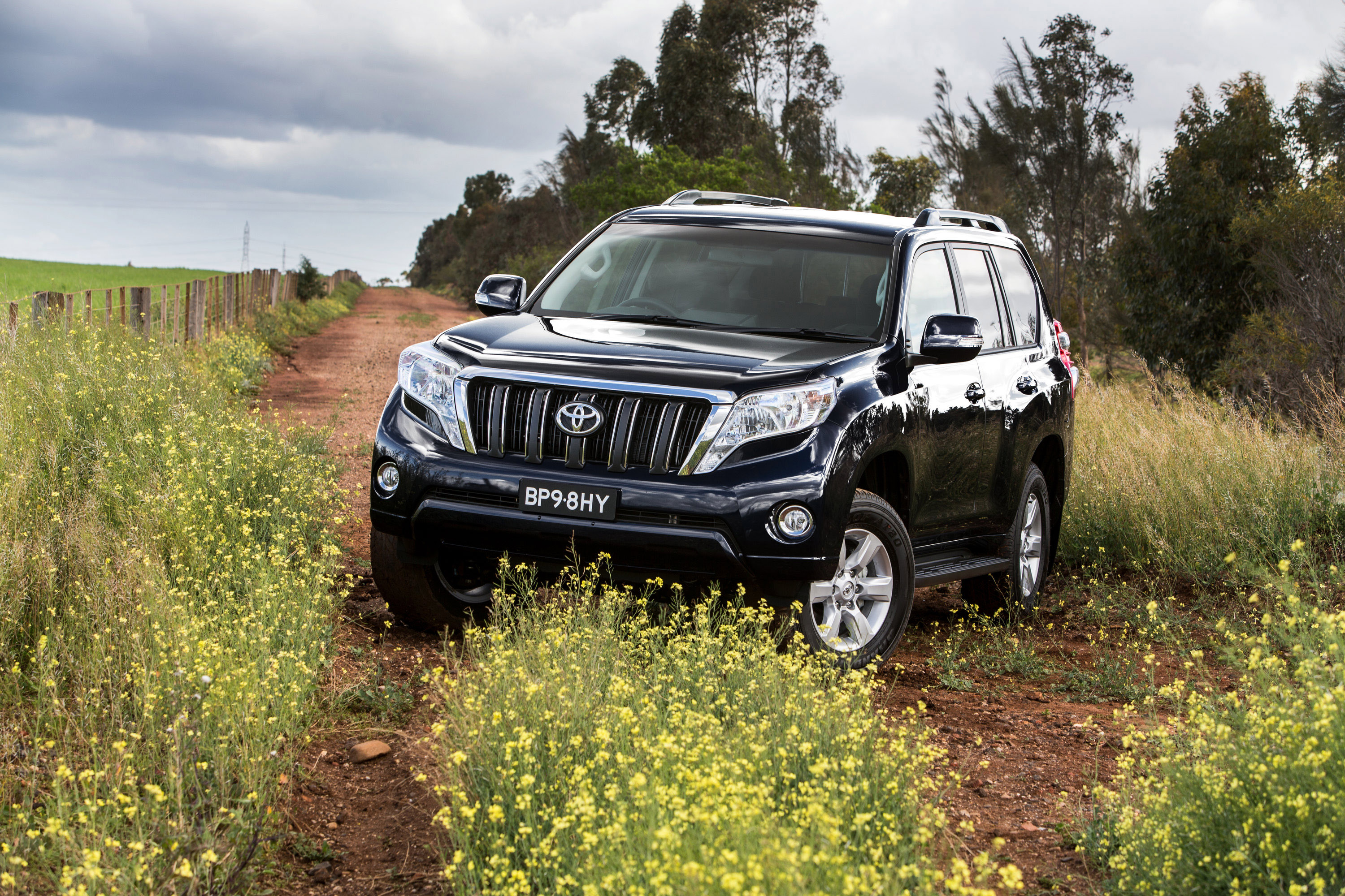 2016 toyota landcruiser prado pricing and specifications photos 1 of 28. Black Bedroom Furniture Sets. Home Design Ideas
