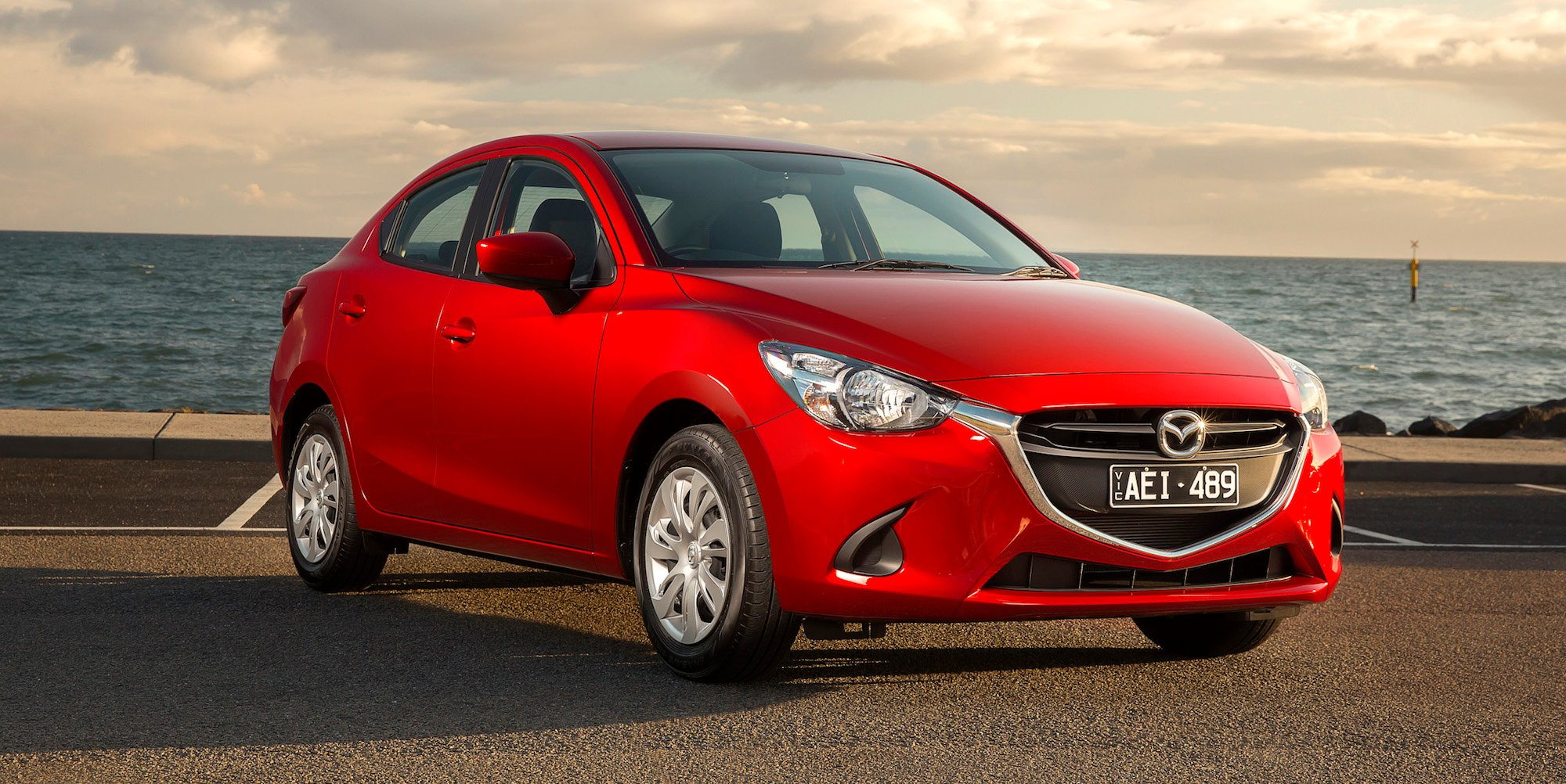 2016 mazda 2 sedan review caradvice. Black Bedroom Furniture Sets. Home Design Ideas