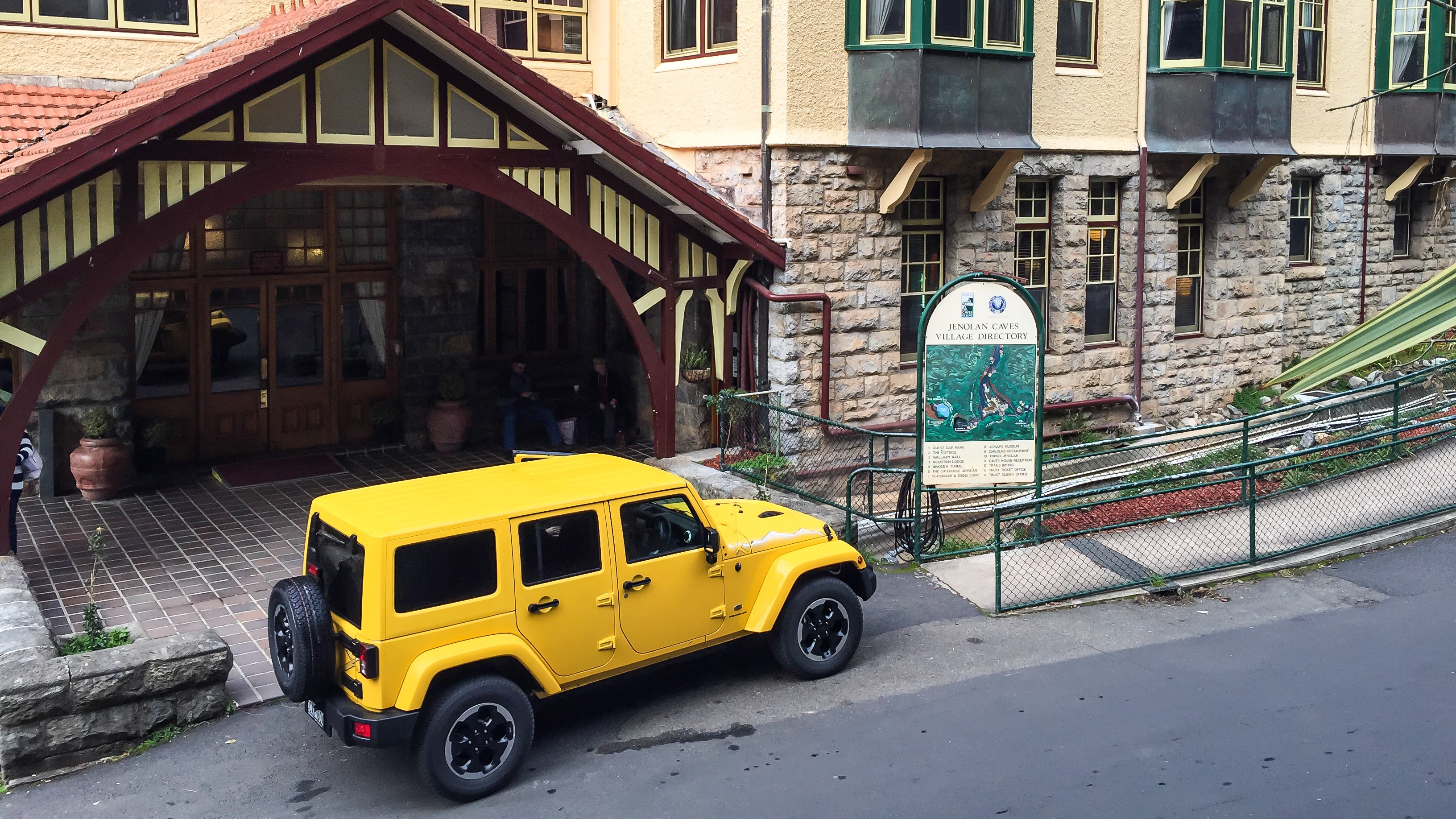New 2015 Jeep Wrangler Unlimited X Review  Jenolan Caves