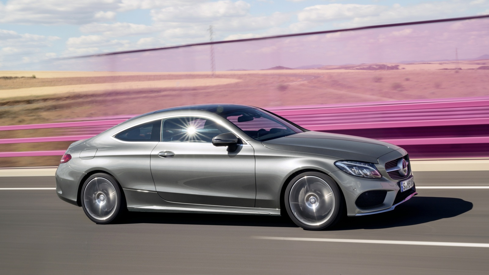 2016 mercedes benz c class coupe revealed photos 1 of 36. Black Bedroom Furniture Sets. Home Design Ideas