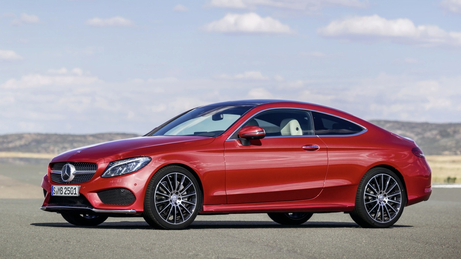 2016 mercedes benz c class coupe revealed photos 1 of 36 - Mercedes c class coupe used ...