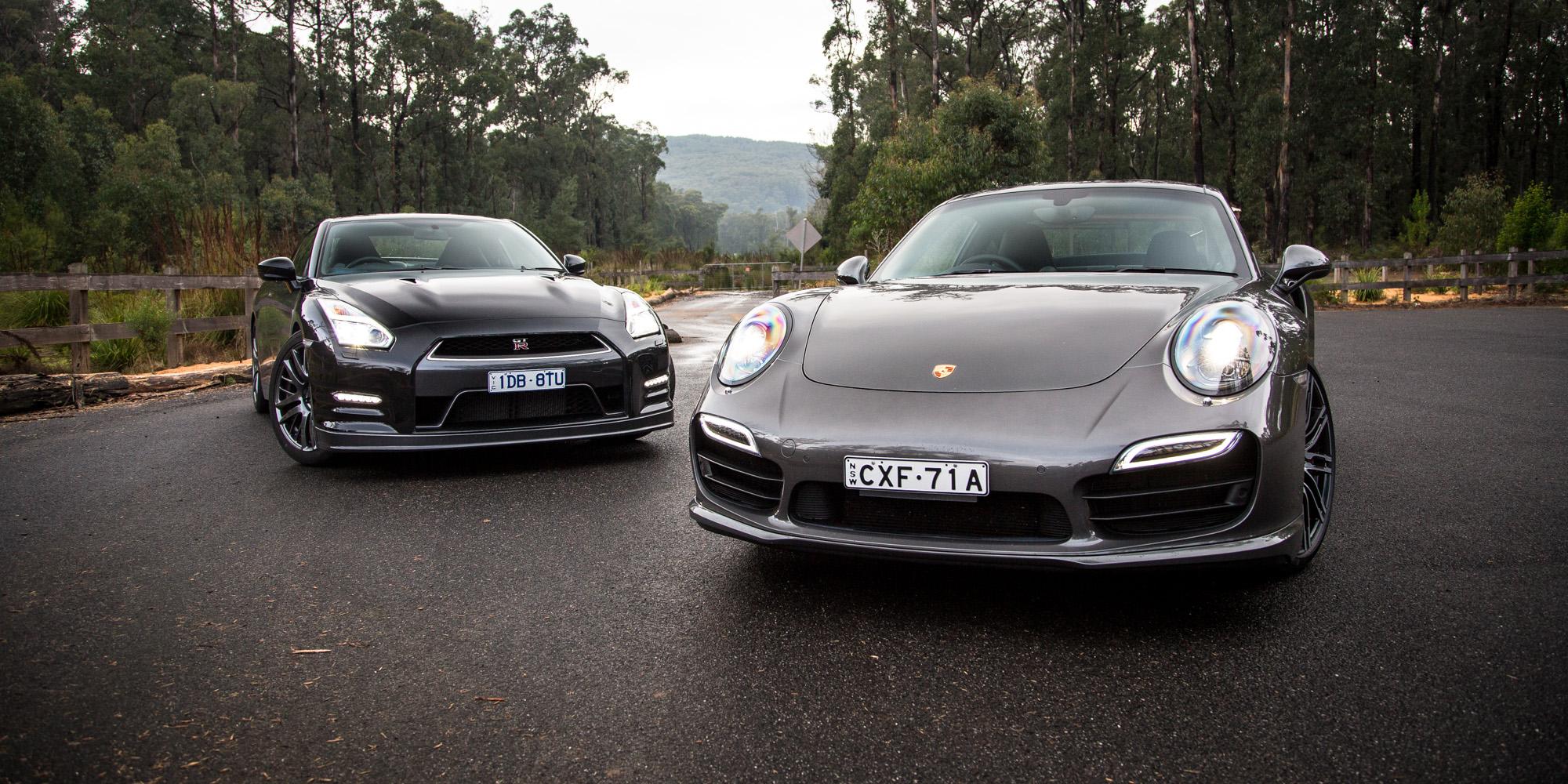 Elegant 2015 Nissan GTR Premium V Porsche 911 Turbo  Comparison