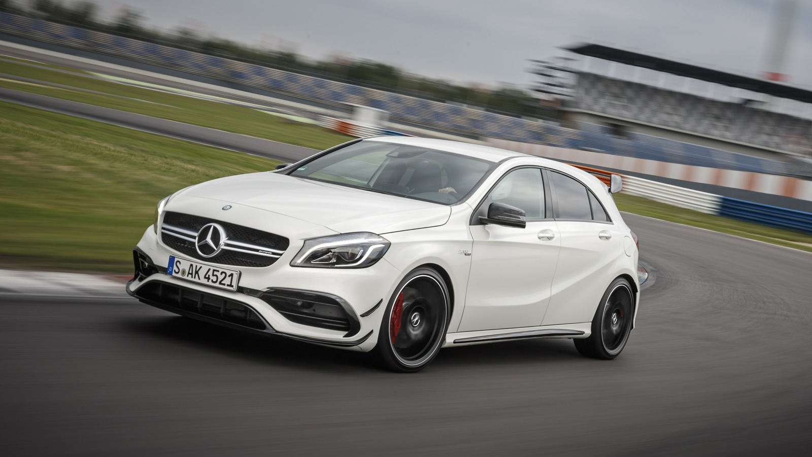 Mercedes 4 Matic >> 2016 Mercedes-AMG A45 4Matic Review: Track test | CarAdvice