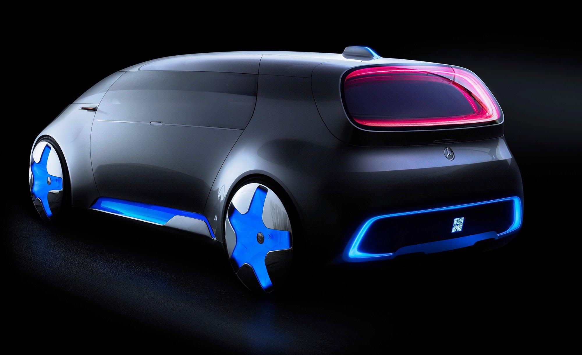 Mercedes Benz Vision Tokyo Revealed Urban Transformer