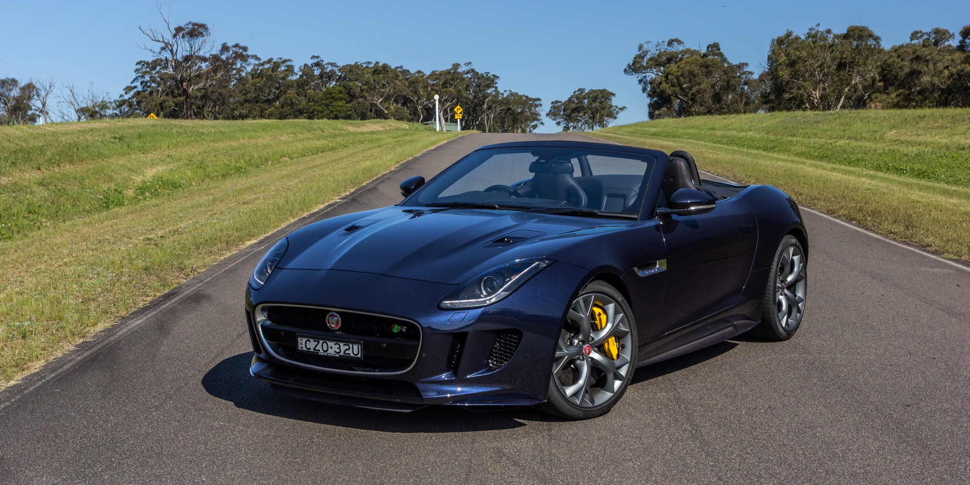 2015 jaguar f type r review awd convertible caradvice. Black Bedroom Furniture Sets. Home Design Ideas