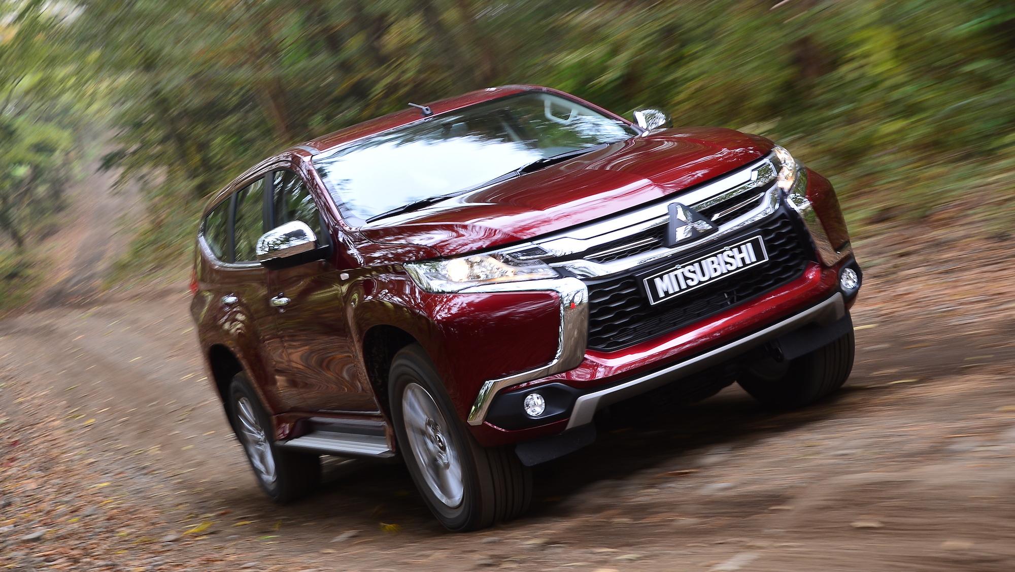 Mitsubishi Pajero Sport Review: Quick drive | CarAdvice