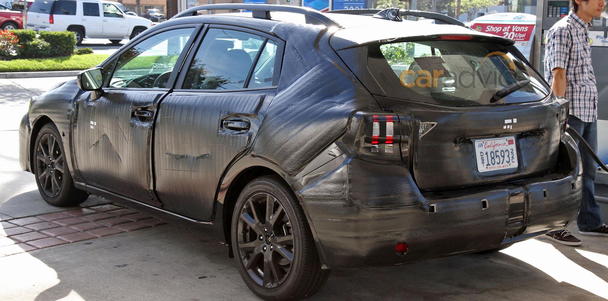 2016 Subaru Impreza Interior And Exterior Spy Photos Photos 1 Of 4