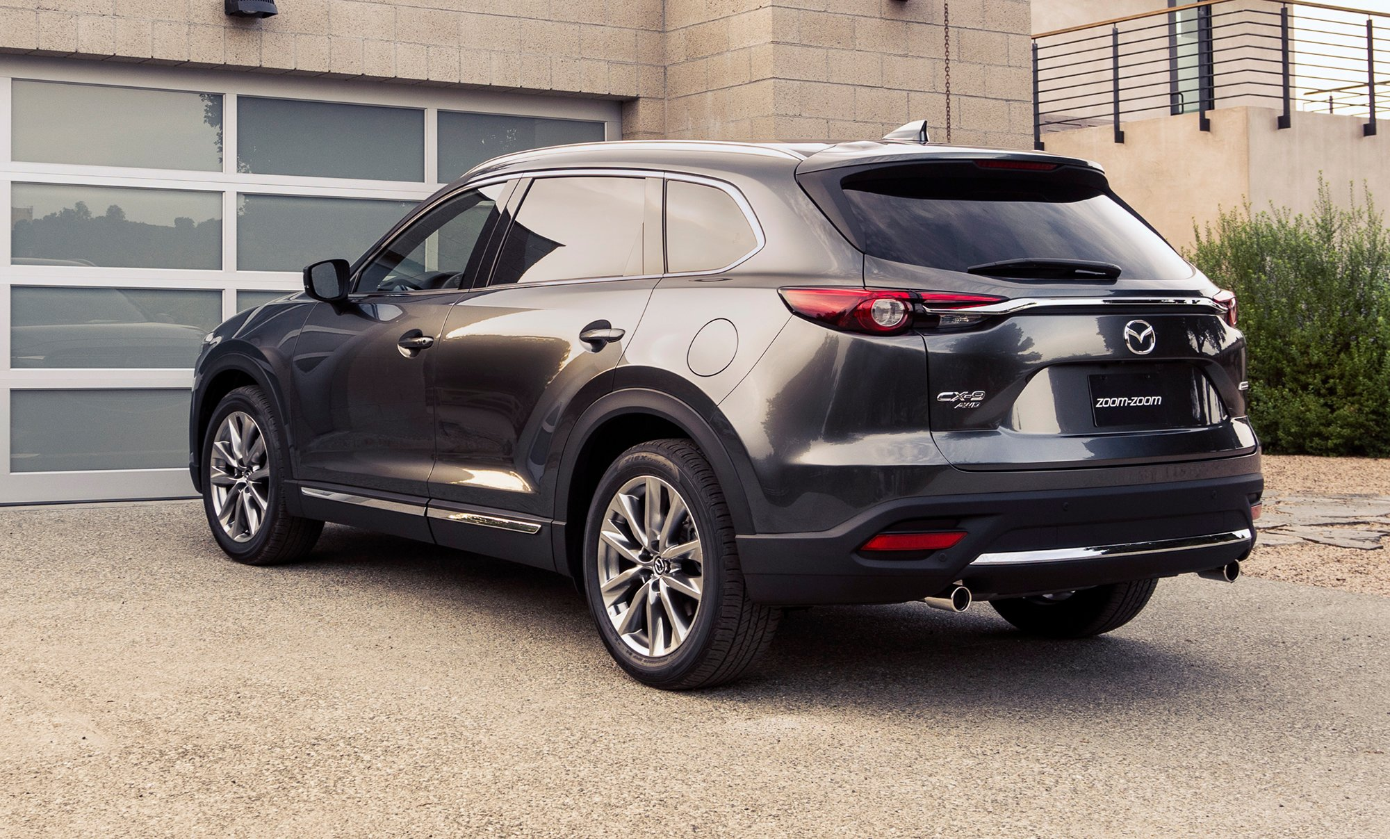 2016 mazda cx 9 revealed with new 2 5 turbo engine photos 1 of 36. Black Bedroom Furniture Sets. Home Design Ideas