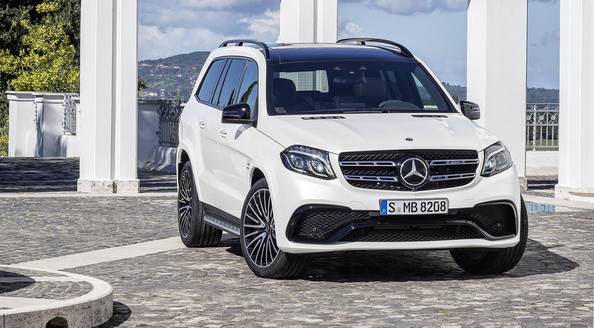 2016 MercedesBenz GLS revealed: Big GL gets new name, new look