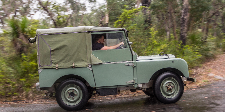 Luxury Land Rover Defender Old V New Comparison 1948 Series 1 V