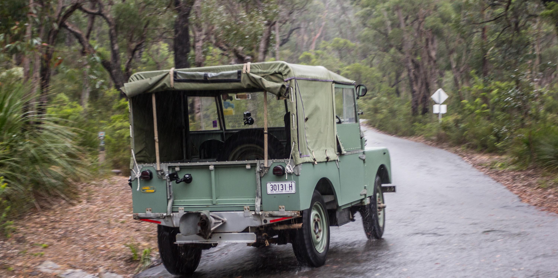 Unique Land Rover Defender Old V New Comparison 1948 Series 1 V