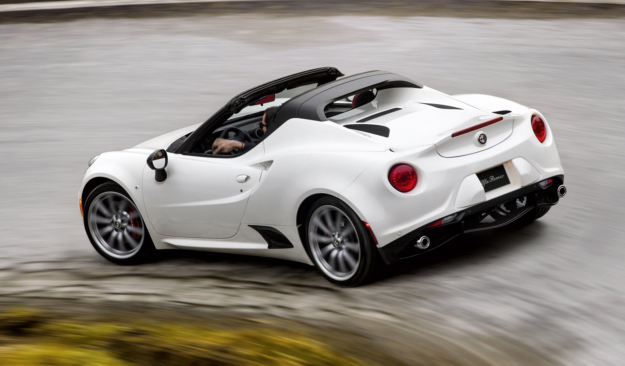 2016 alfa romeo 4c spider pricing and specifications photos 1 of 12. Black Bedroom Furniture Sets. Home Design Ideas