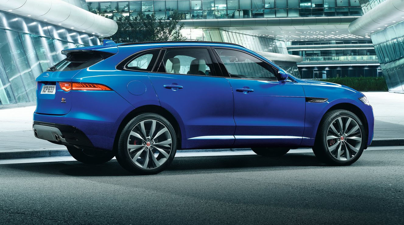 2016 jaguar f pace pricing and specifications 74 340 opener for new suv range photos 1 of 20. Black Bedroom Furniture Sets. Home Design Ideas