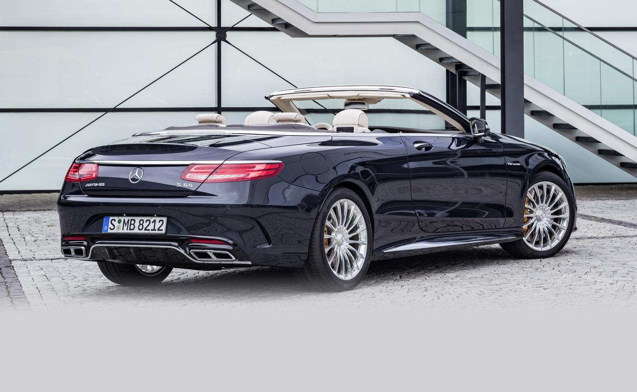2016 mercedes amg s65 cabriolet revealed update photos 1 of 13. Black Bedroom Furniture Sets. Home Design Ideas