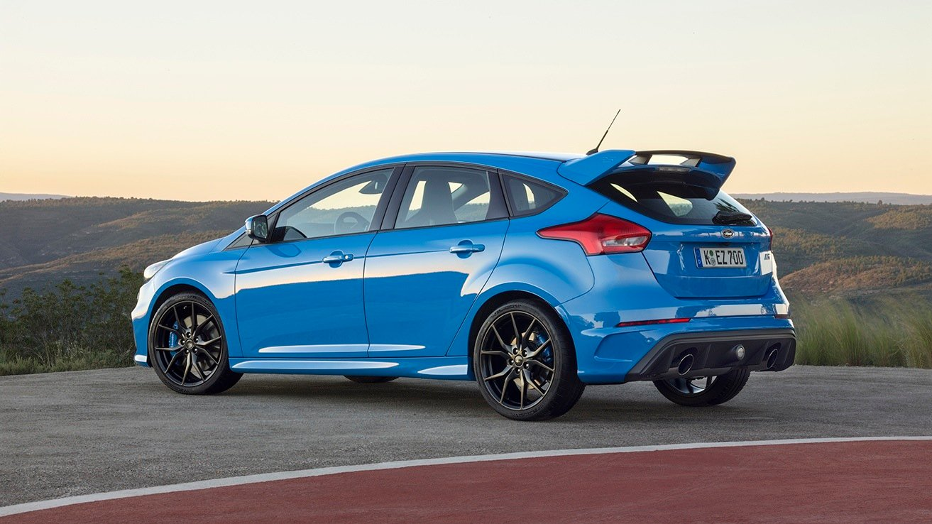 2016 ford focus rs review