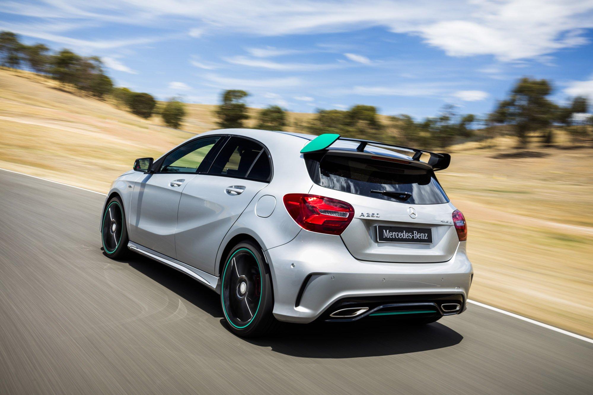 2016 mercedes benz a class review caradvice for Mercedes benz mbrace reviews