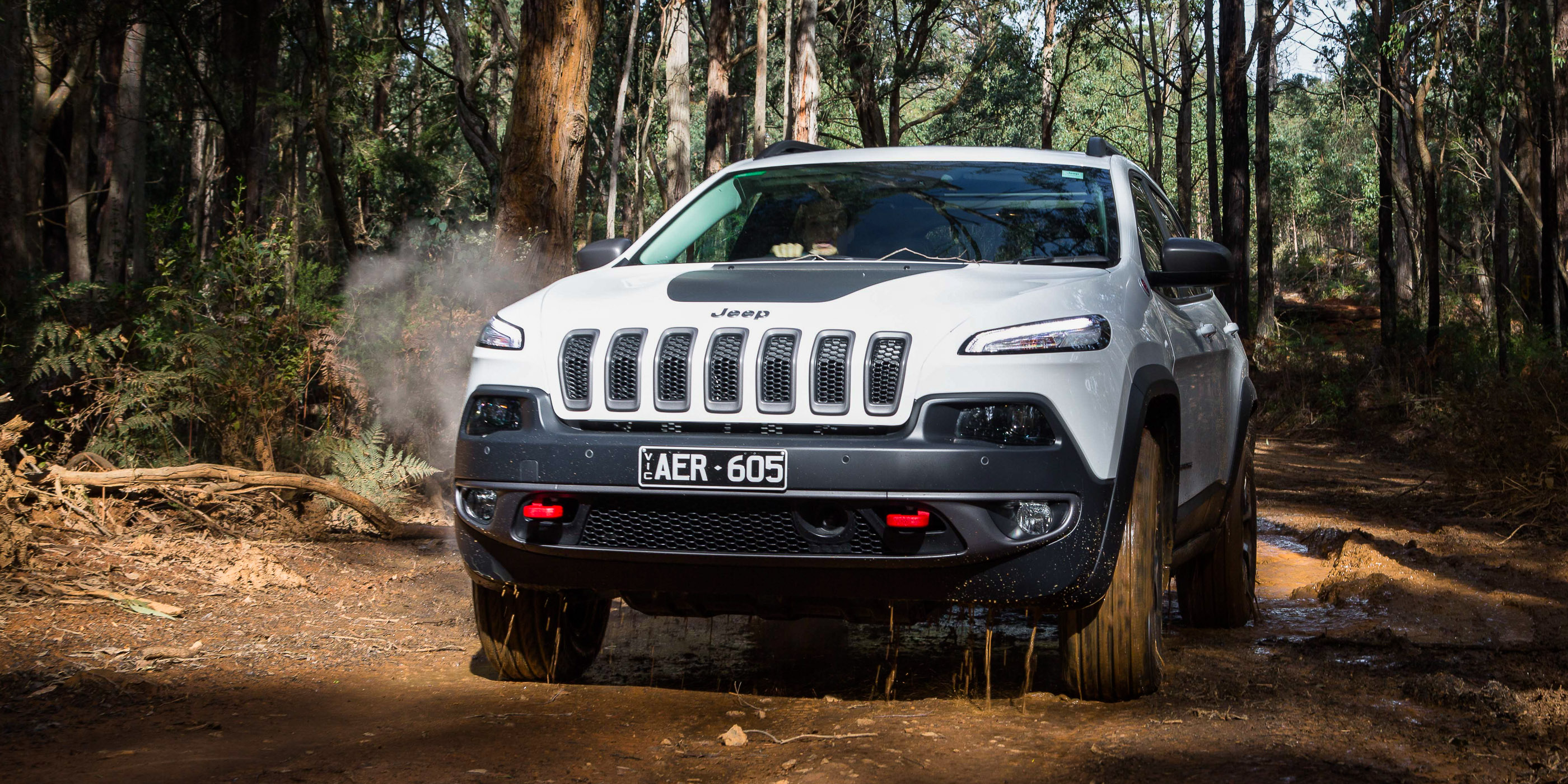 2016 jeep cherokee trailhawk review caradvice. Black Bedroom Furniture Sets. Home Design Ideas