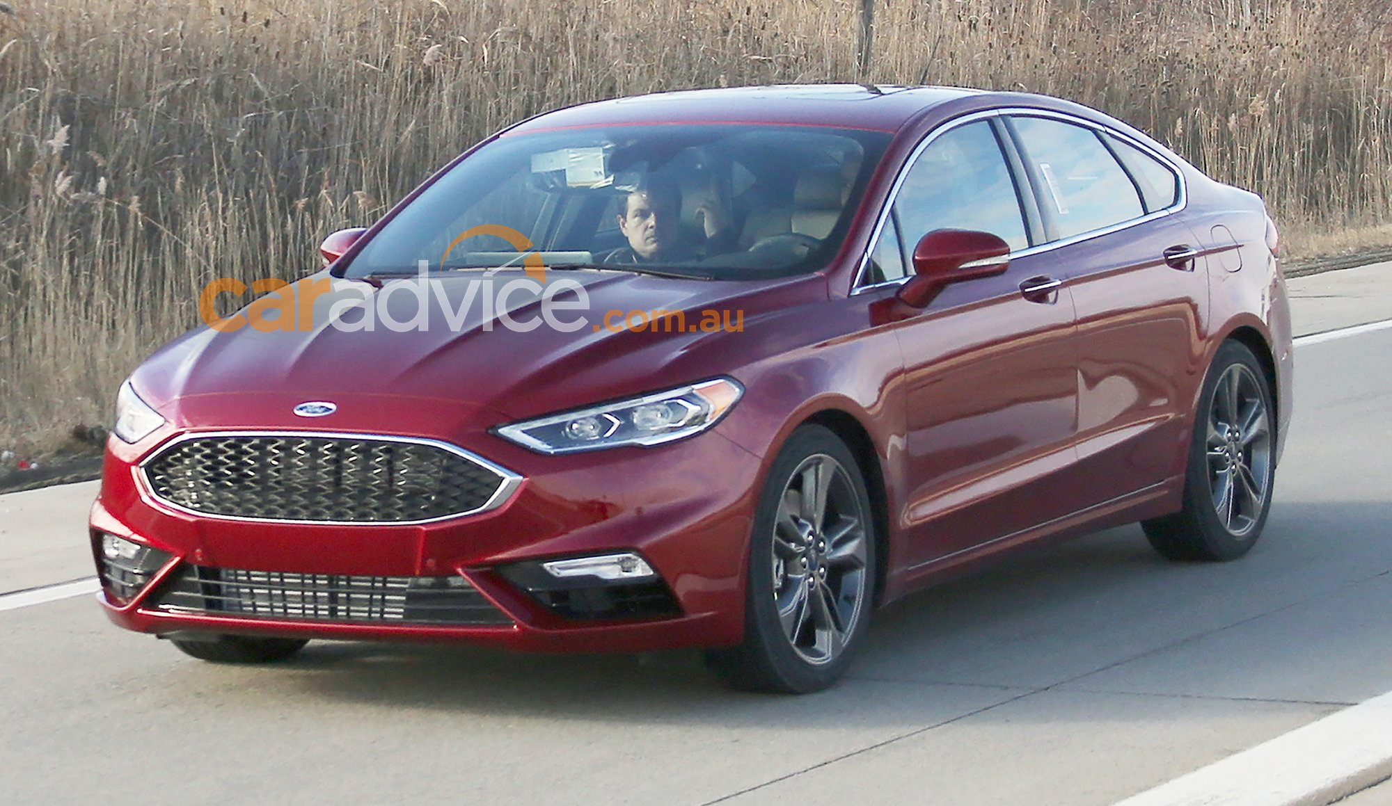 2017 ford mondeo sport spied without disguise turbo v6 expected for detroit show photos 1 of 5. Black Bedroom Furniture Sets. Home Design Ideas