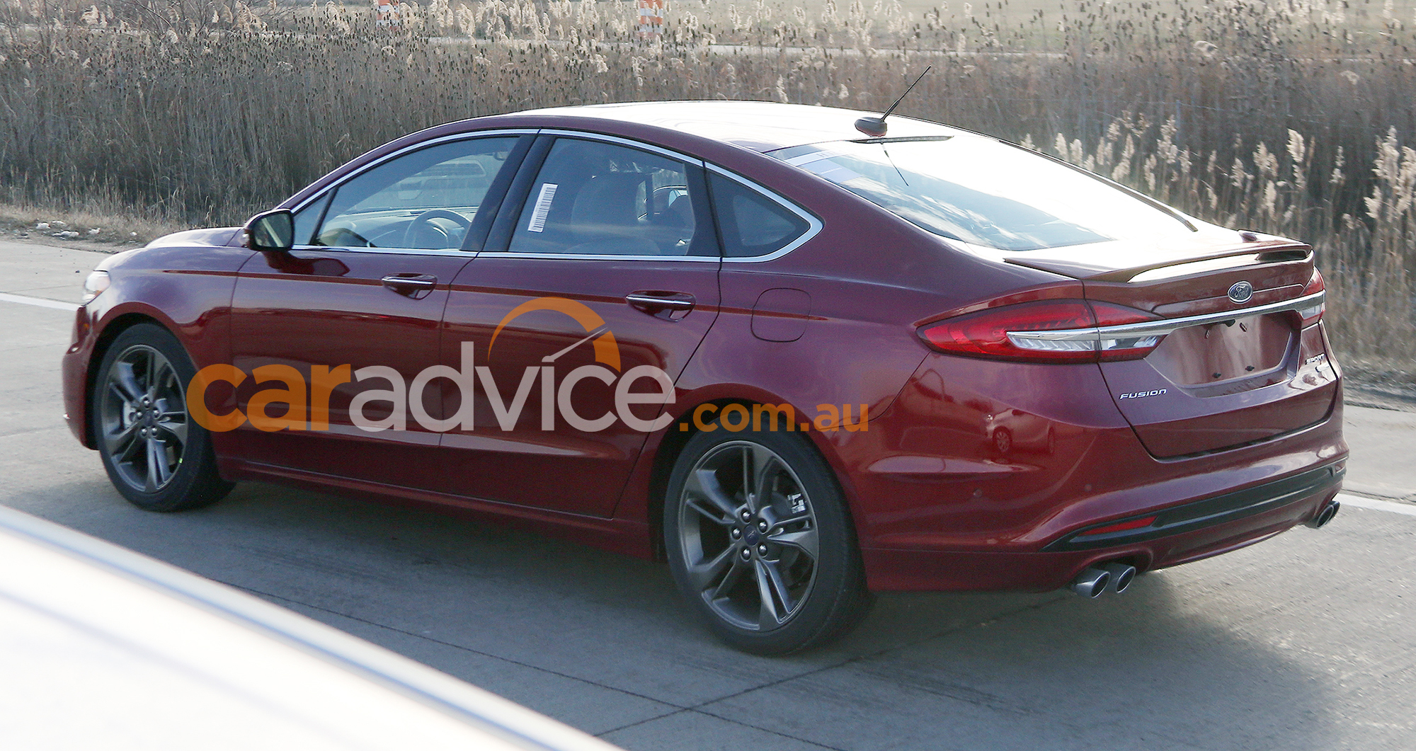 2017 ford mondeo sport spied without disguise turbo v6 expected for detroit show photos 1 of 5