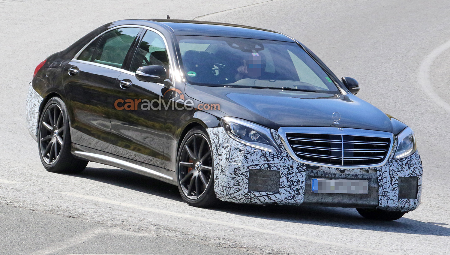 2017 mercedes benz s class amg s63 spied testing update. Black Bedroom Furniture Sets. Home Design Ideas