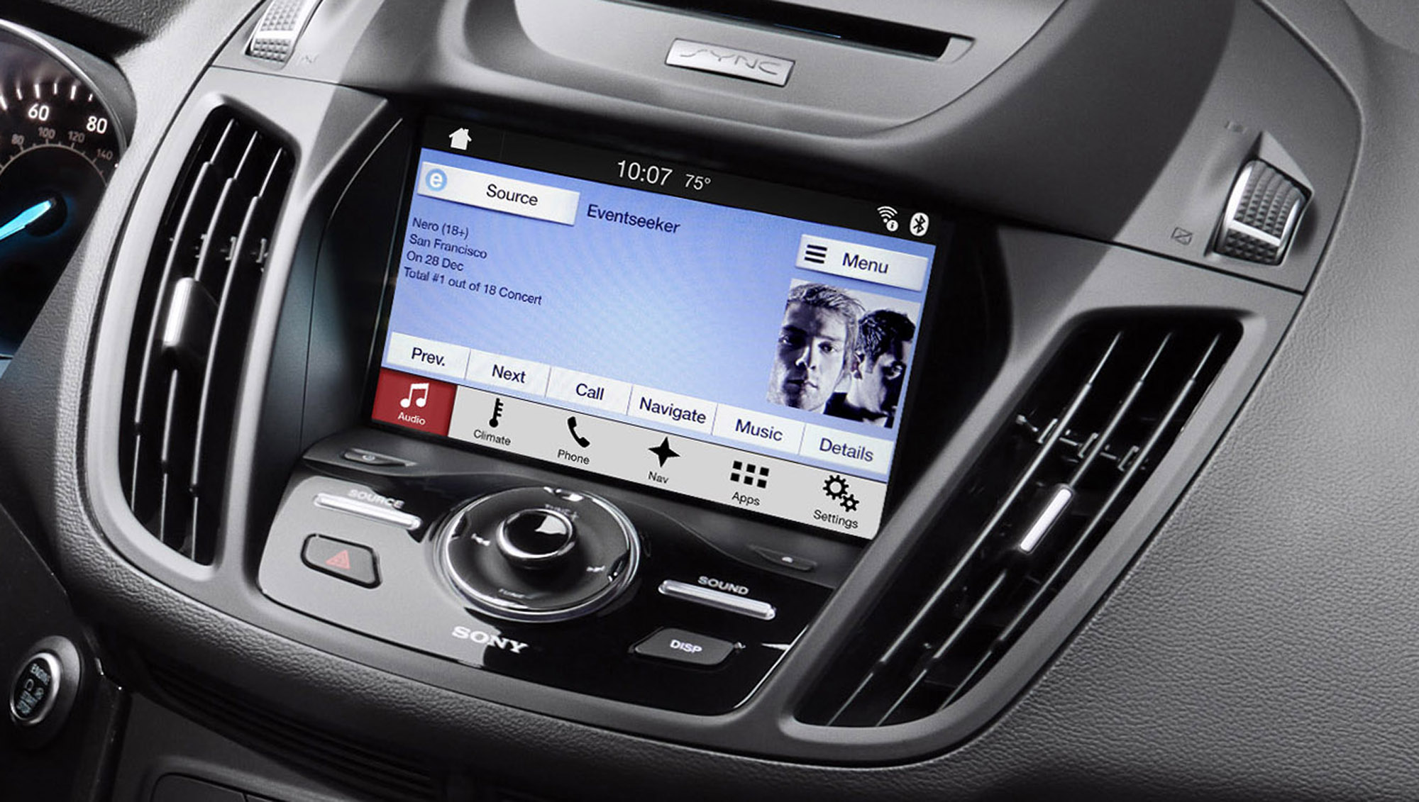 apple carplay and android auto come to ford sync 3 fiat chrysler uconnect photos 1 of 7. Black Bedroom Furniture Sets. Home Design Ideas