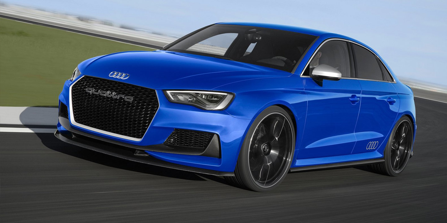 2017 audi rs3 sedan closing in on showroom debut report. Black Bedroom Furniture Sets. Home Design Ideas