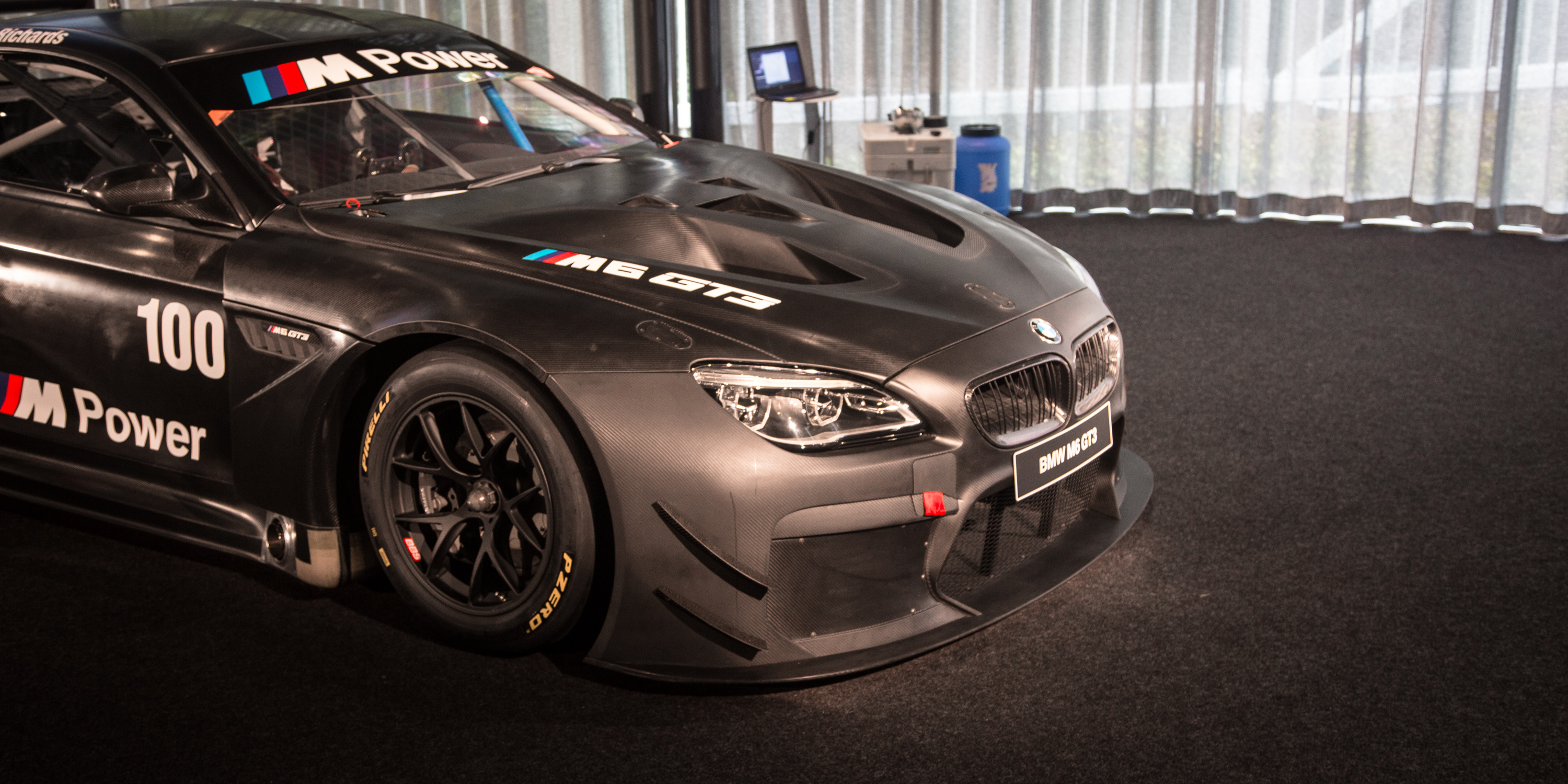 New 2016 BMW M6 GT3 Twinturbo Racer Unveiled In Melbourne