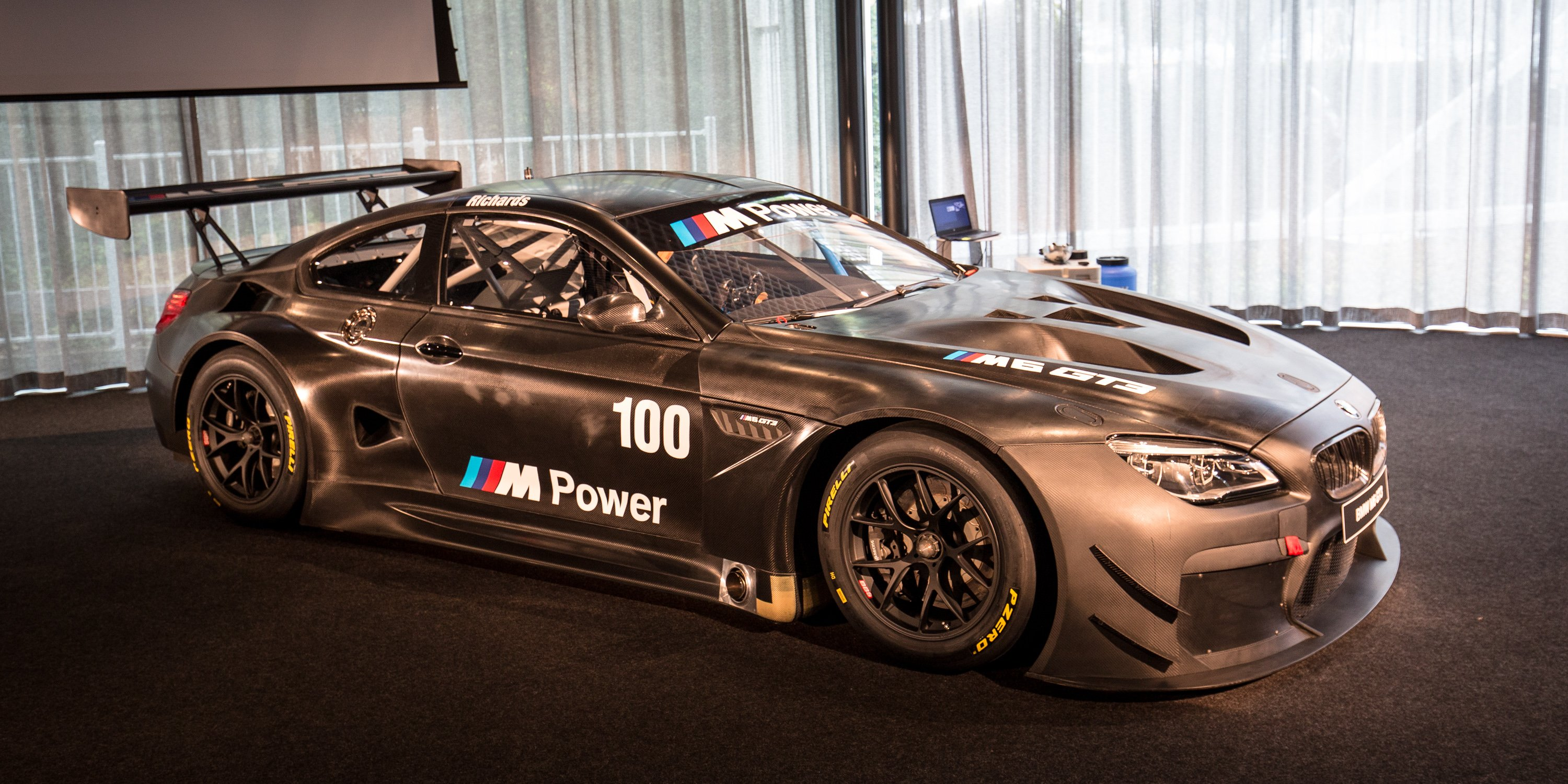 Lastest 2016 BMW M6 GT3 Twinturbo Racer Unveiled In Melbourne