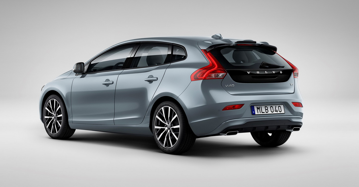 2017 volvo v40 facelift revealed australian debut due later this year photos 1 of 12. Black Bedroom Furniture Sets. Home Design Ideas