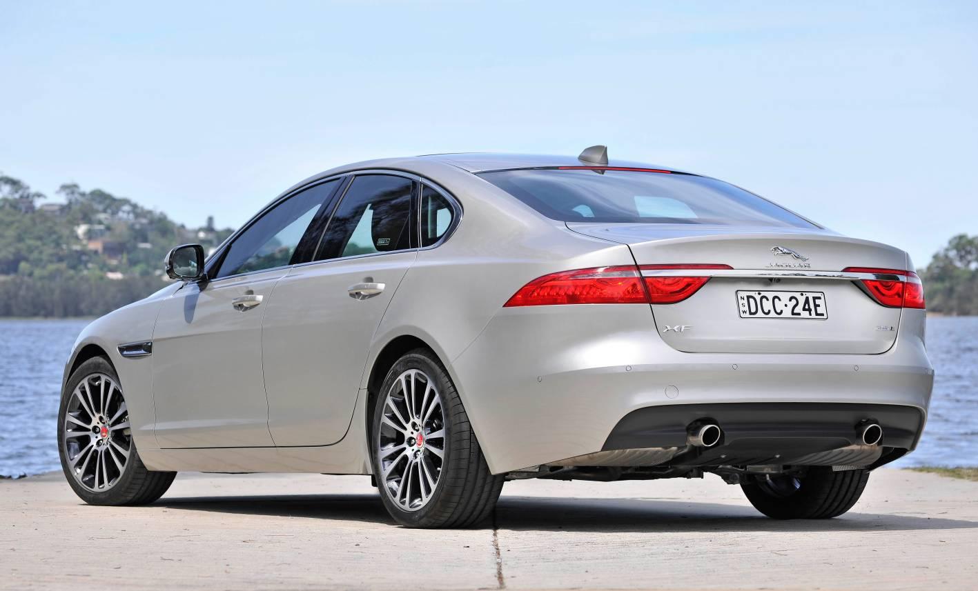F Type Price >> 2016 Jaguar XF Review: first Australian drive | CarAdvice