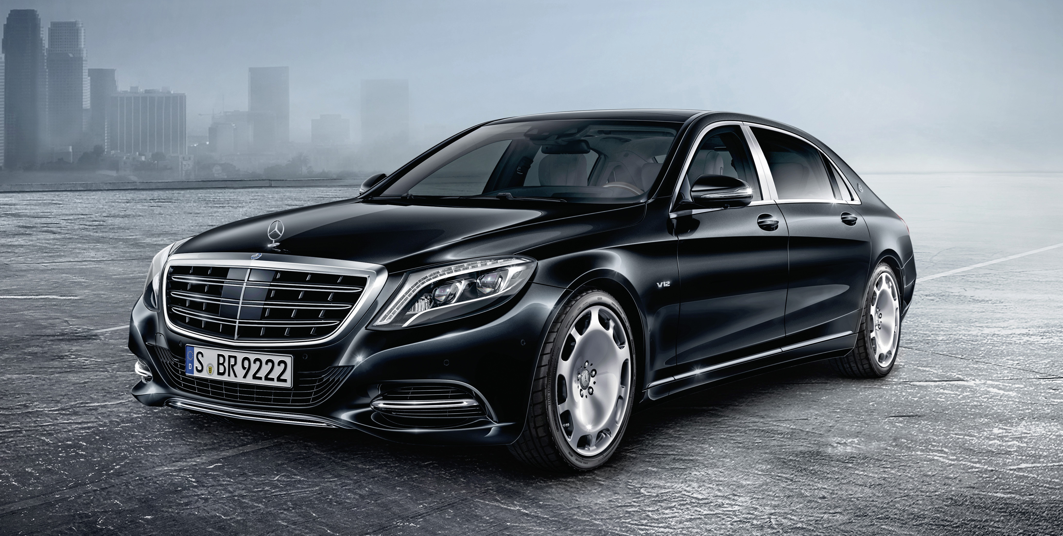 mercedes maybach s600 guard benz lobs bomb proof limo. Black Bedroom Furniture Sets. Home Design Ideas
