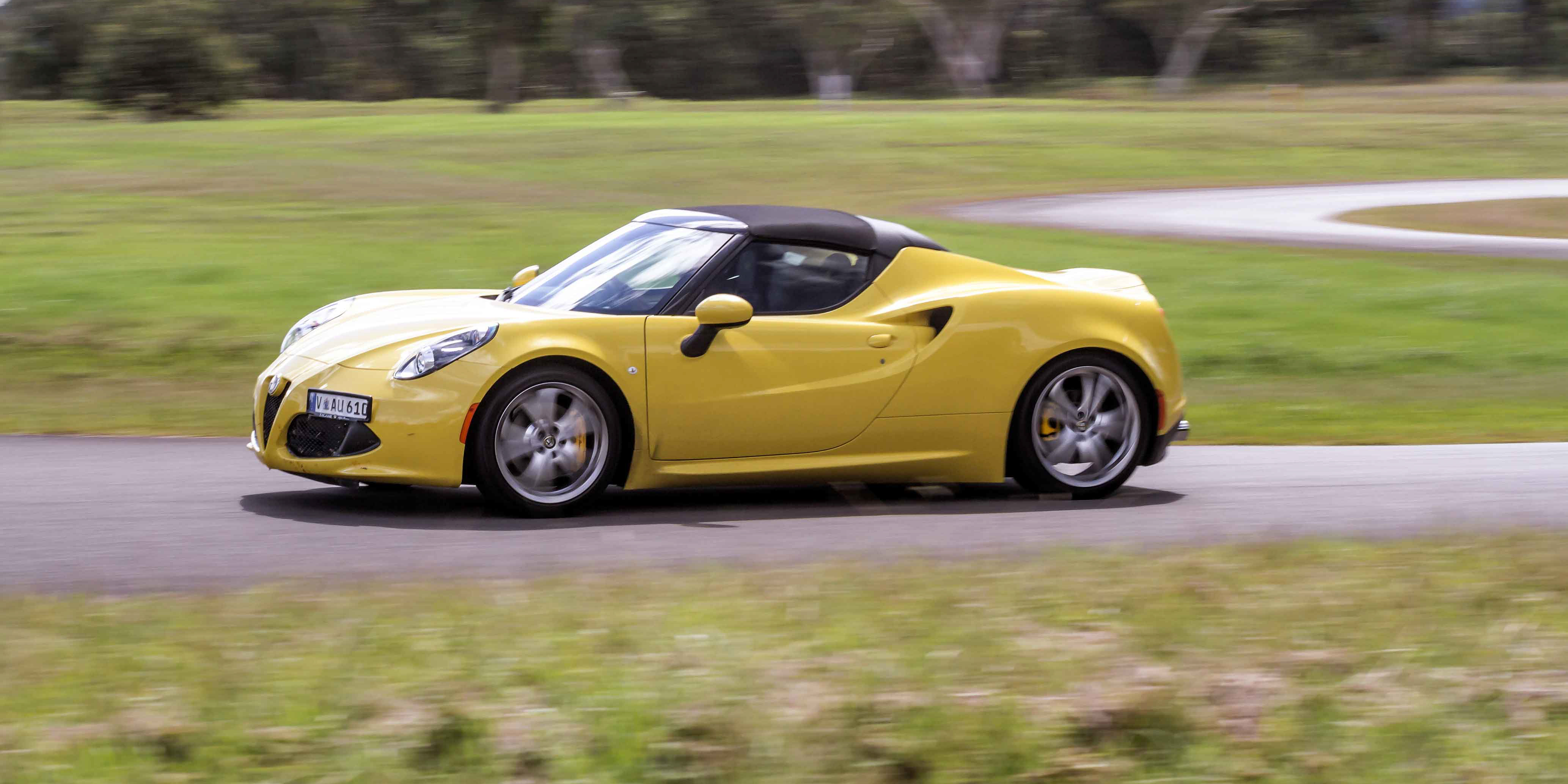 Perfect 2016 Alfa Romeo 4C Spider Review  CarAdvice