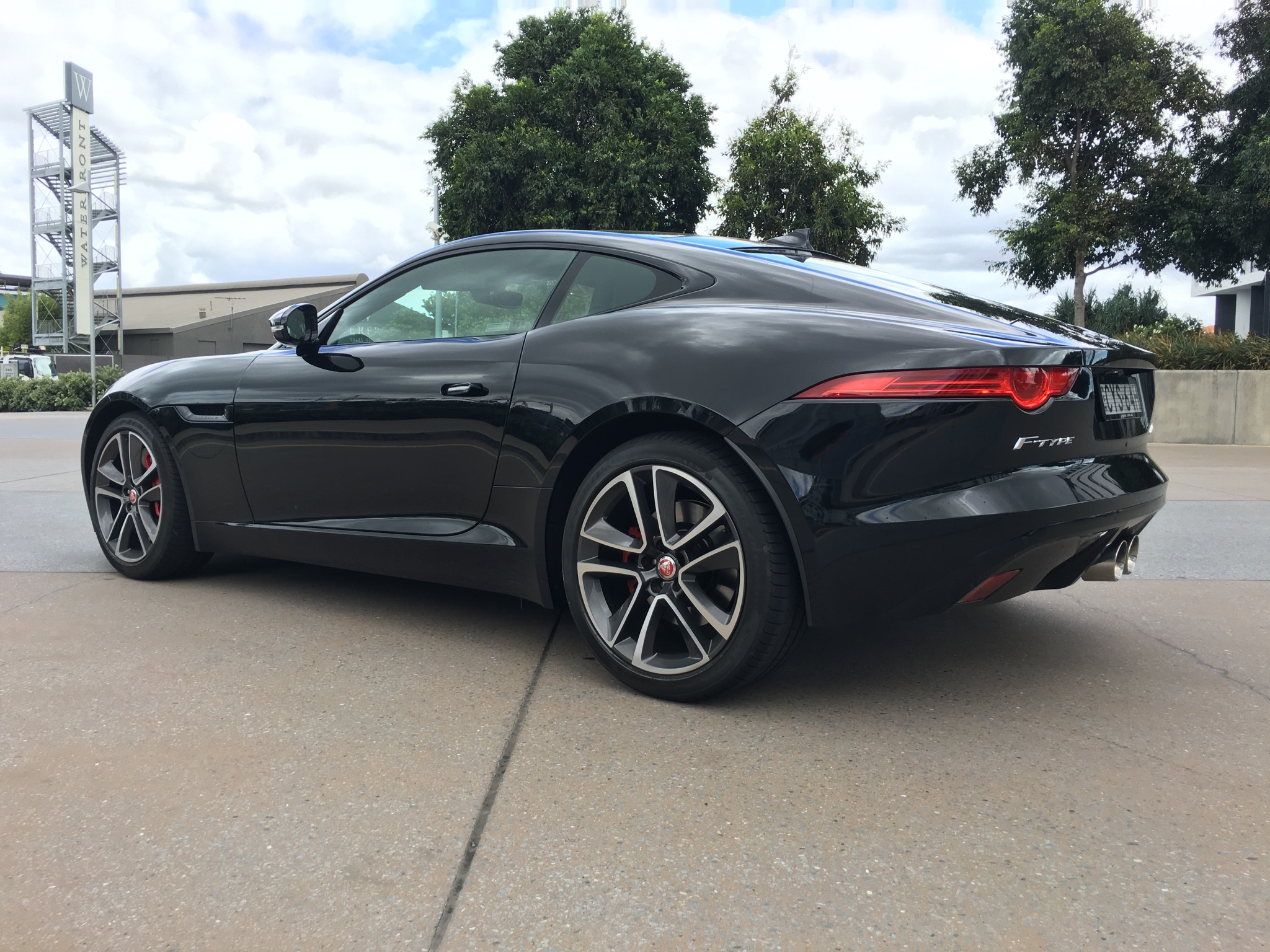 2016 jaguar f type review v6 s awd coupe caradvice. Black Bedroom Furniture Sets. Home Design Ideas