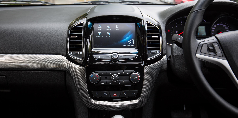 Elegant 2016 Holden Captiva LTZ Review  CarAdvice