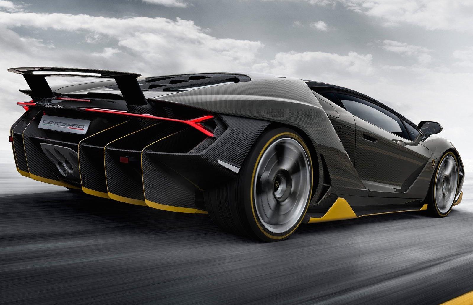 2017 Lamborghini Centenario:: 566kW V12 centenary limited ...