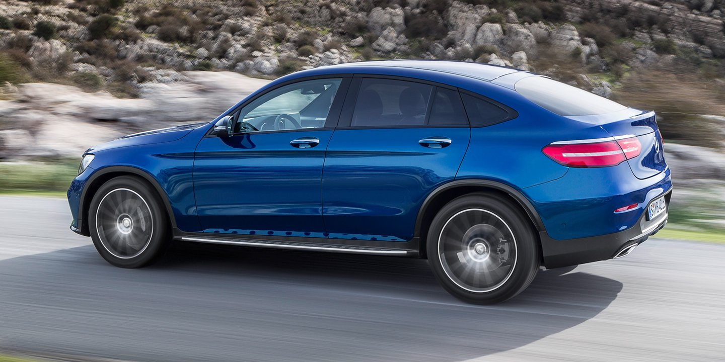 2017 Amg Glc 43 Coupe Mercedes Benz >> 2017 Mercedes-Benz GLC Coupe, AMG GLC43 Coupe revealed