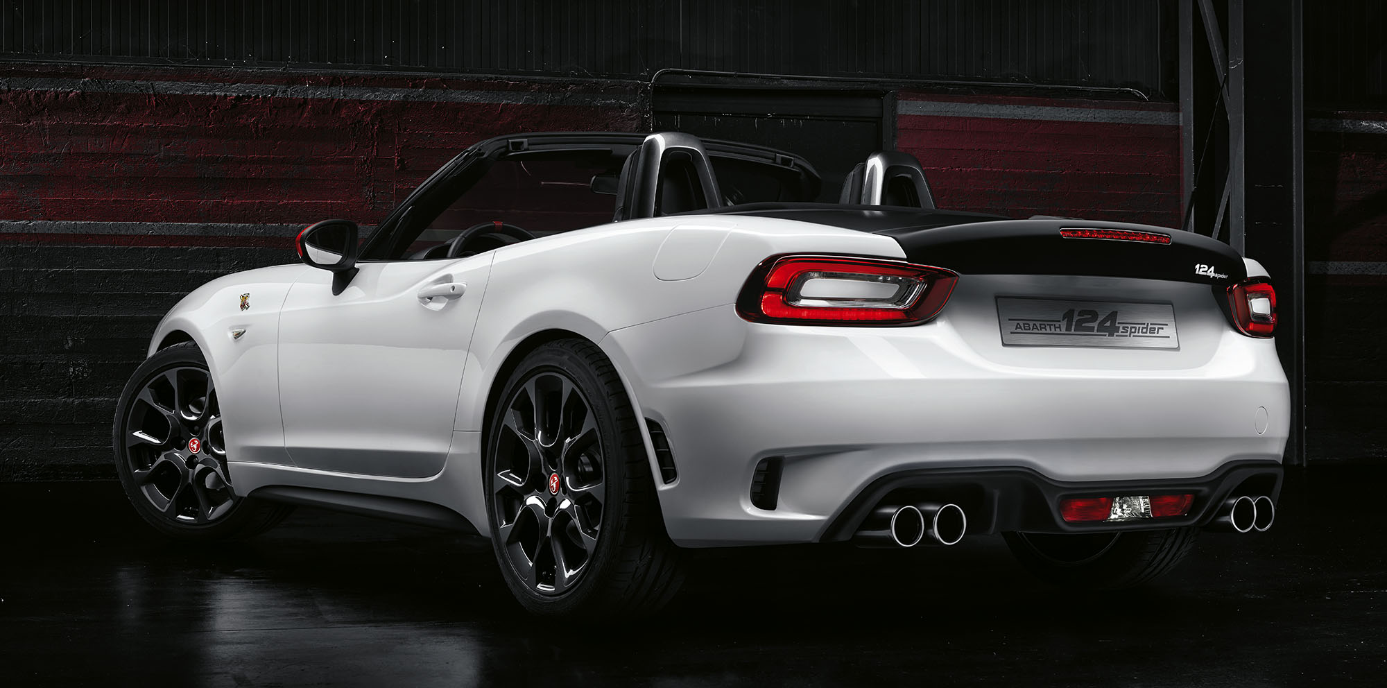 abarth 124 spider and 124 rally unveiled photos 1 of 6. Black Bedroom Furniture Sets. Home Design Ideas