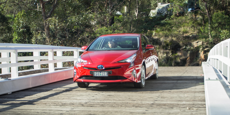 Original 2016 Toyota Prius ITech Review  CarAdvice