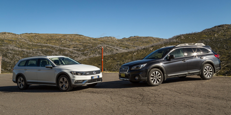 Fantastic 2016 Volkswagen Passat Alltrack 20TDI V 2016 Subaru
