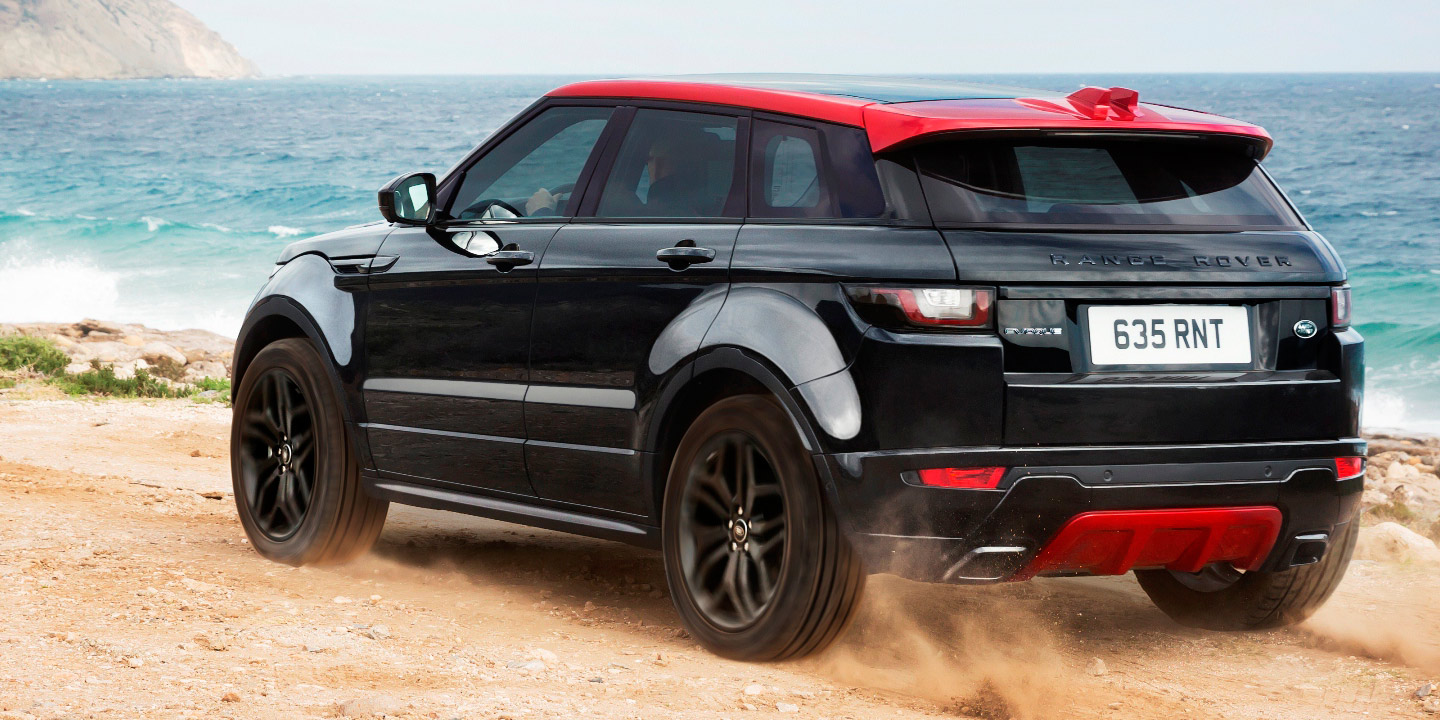 2016 range rover evoque ember coming to australia bigger screen joins range photos 1 of 6. Black Bedroom Furniture Sets. Home Design Ideas