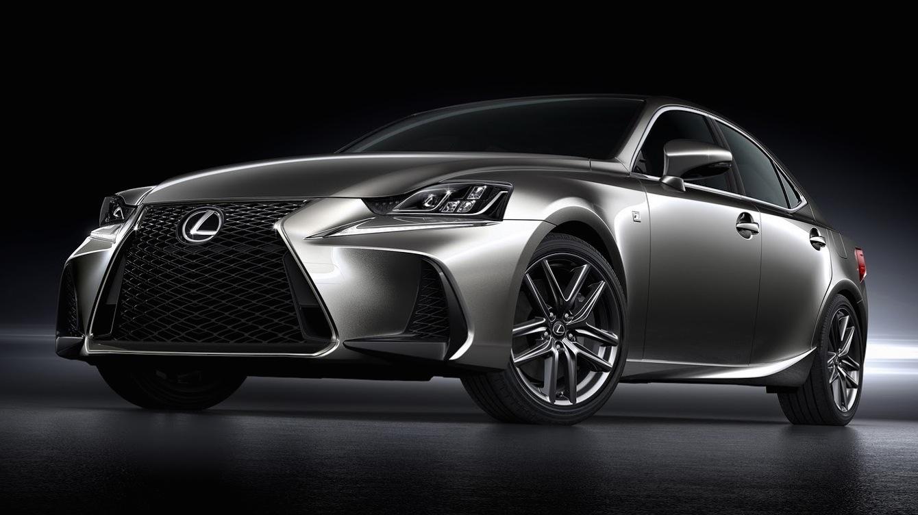 2017 Lexus IS facelift unveiled - UPDATE - Photos (1 of 12)