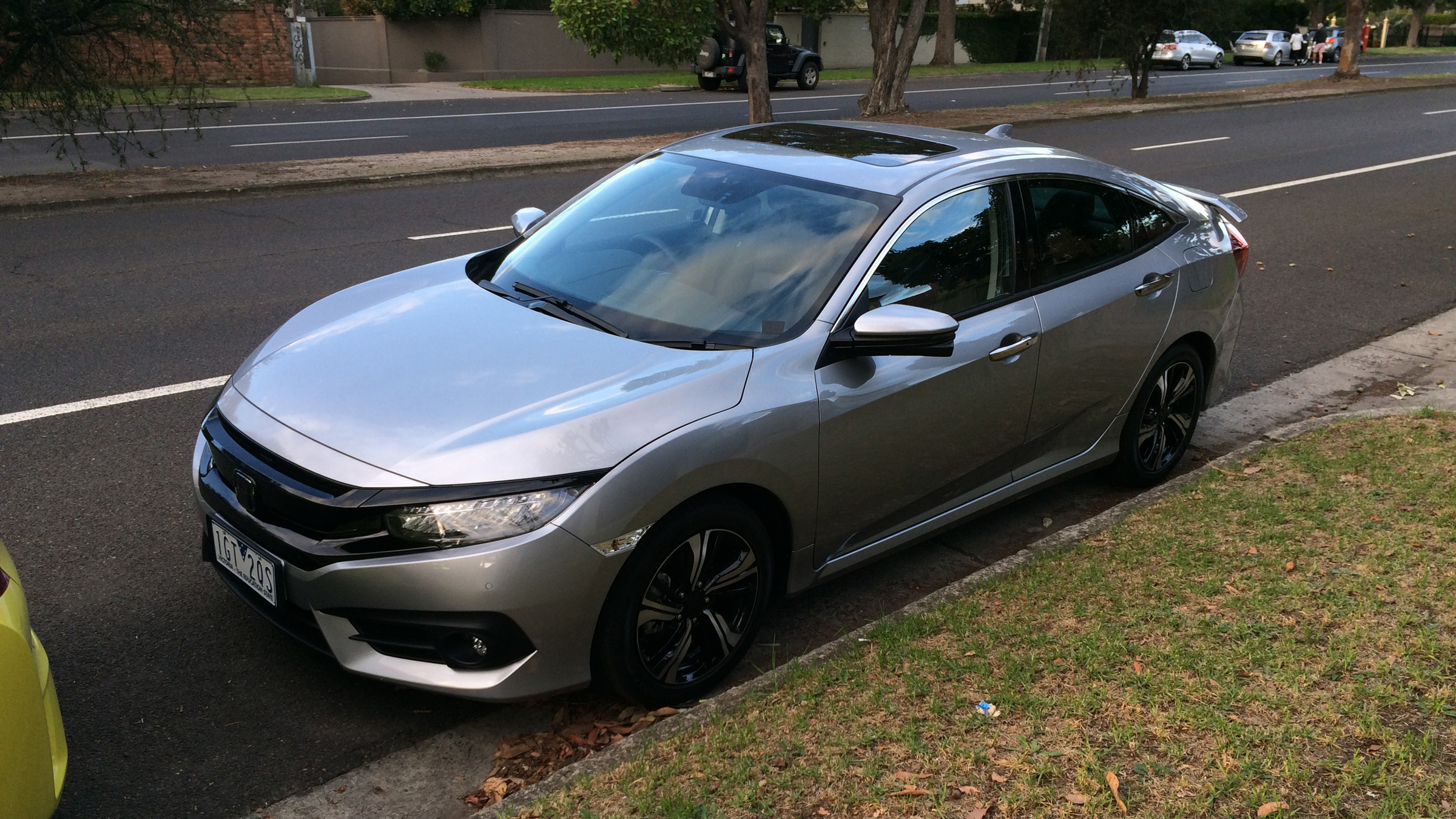 2017 Honda Civic spotted in Melbourne ahead of Australian launch ...