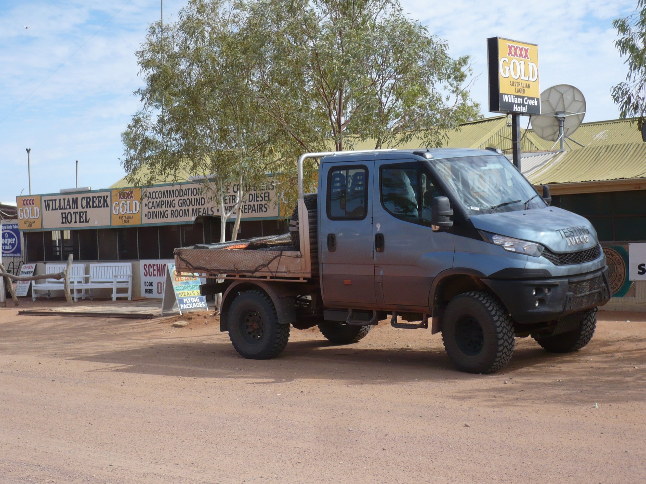 2016 iveco daily 4x4 rigorous outback testing completed ahead of local launch photos 1 of 3. Black Bedroom Furniture Sets. Home Design Ideas