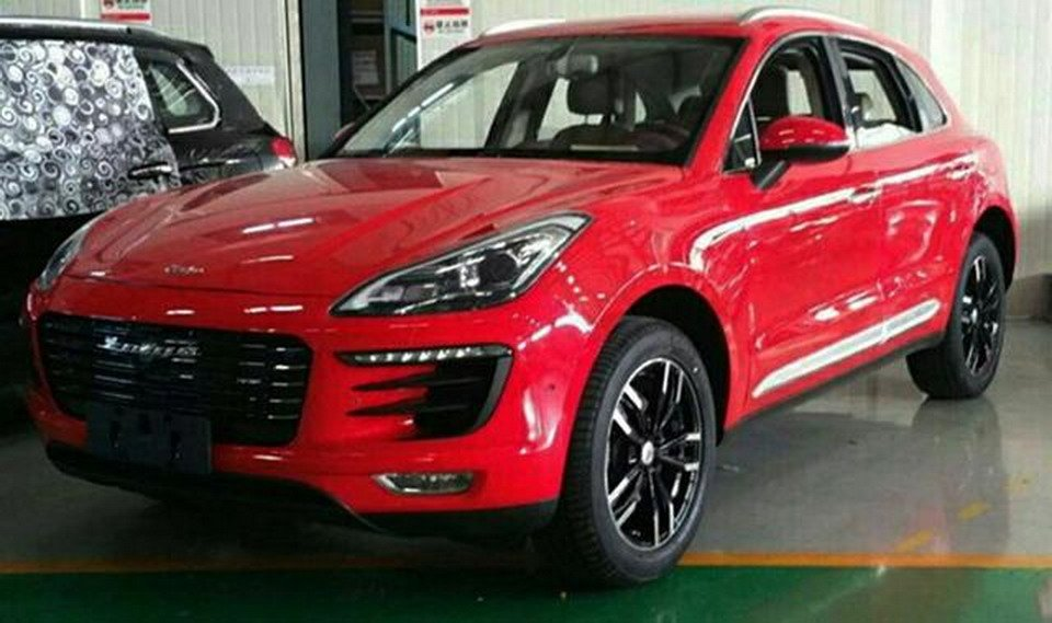 china 39 s zotye rolling out porsche macan knockoff photos 1 of 6. Black Bedroom Furniture Sets. Home Design Ideas