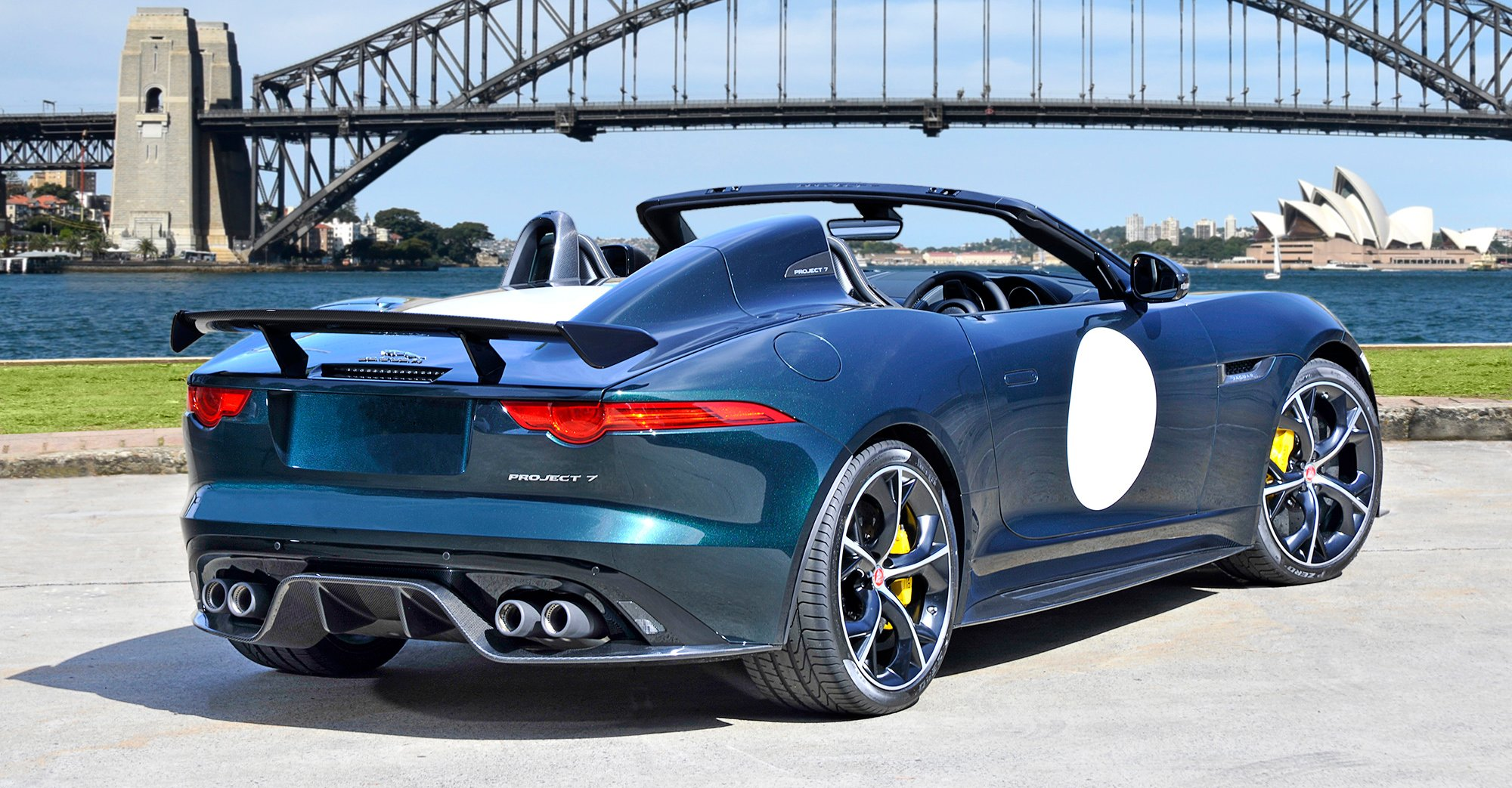 jaguar f type project 7 arrives in australia photos 1 of 3. Black Bedroom Furniture Sets. Home Design Ideas